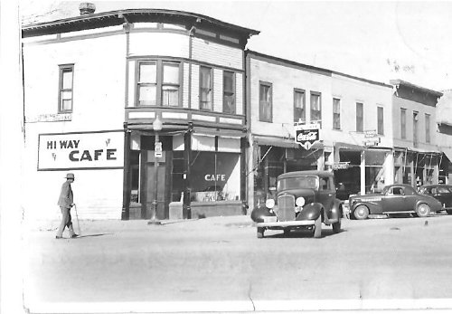 Historic Street Scene from Downtown Belle Fourche