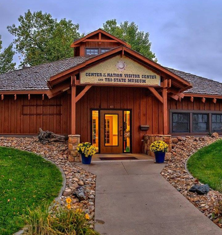 The Tri-State Museum and Visitor Center at the Center of the Nation in Belle Fourche, South Dakota