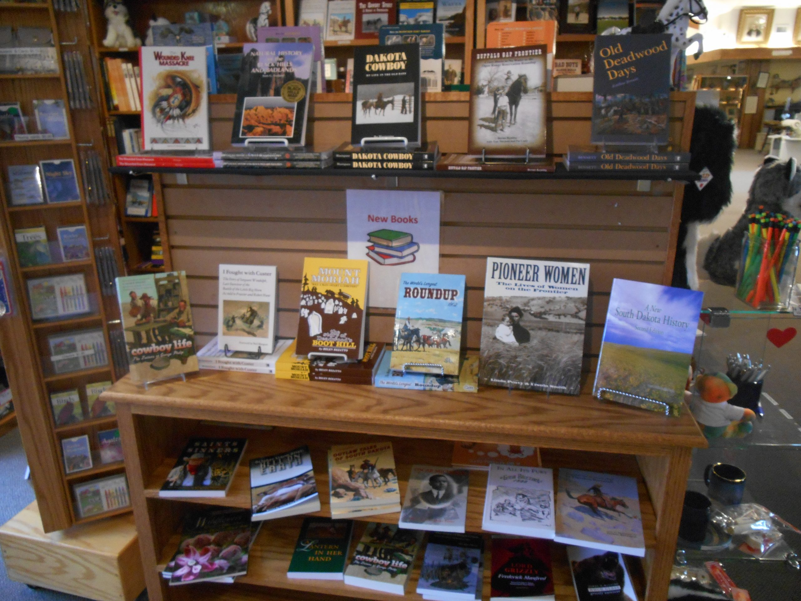 We Have New Books in the Gift Shop!